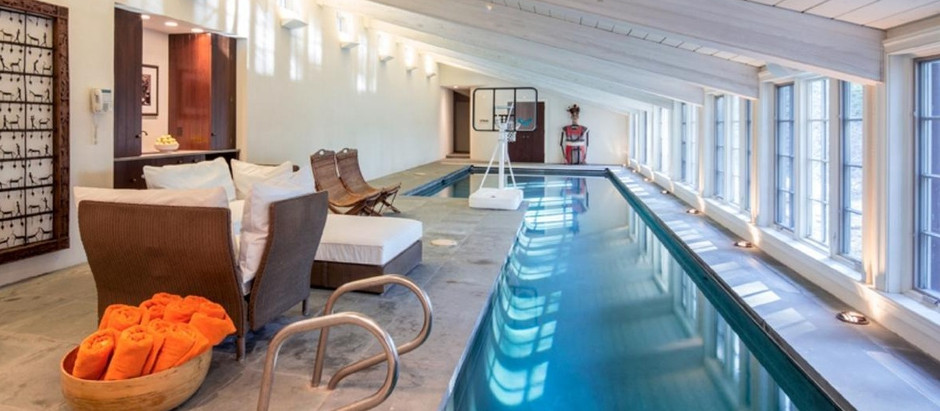 TOP 5 LISTINGS WITH INDOOR POOLS