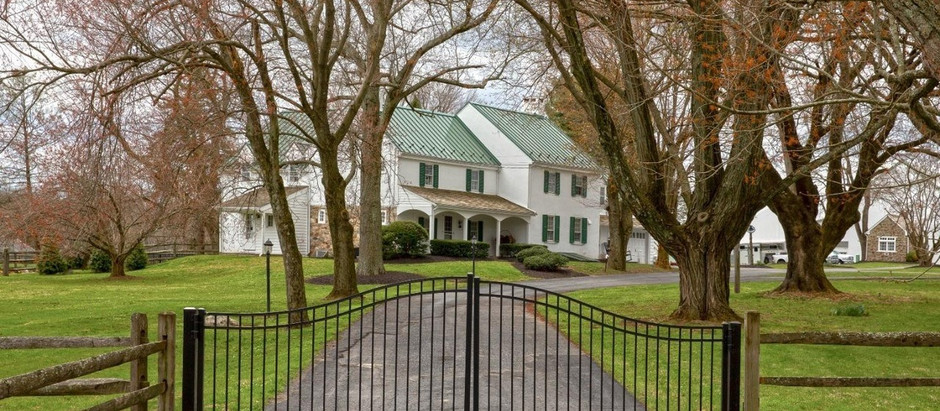 HISTORIC HOMES IN CHESTER COUNTY
