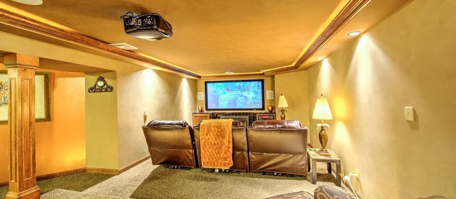 TOP 5 HOMES WITH A MEDIA ROOM