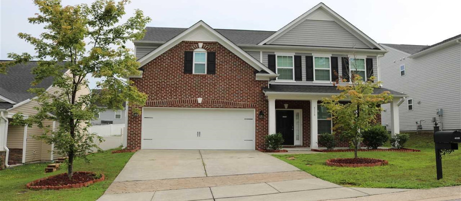 RALEIGH'S NEWEST LISTINGS UNDER $300,000