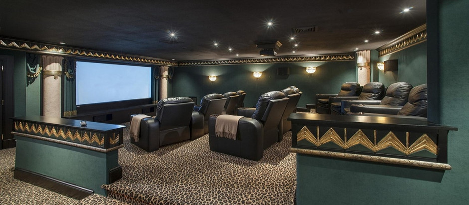 TOP 5 LISTINGS WITH A DELUXE HOME THEATER