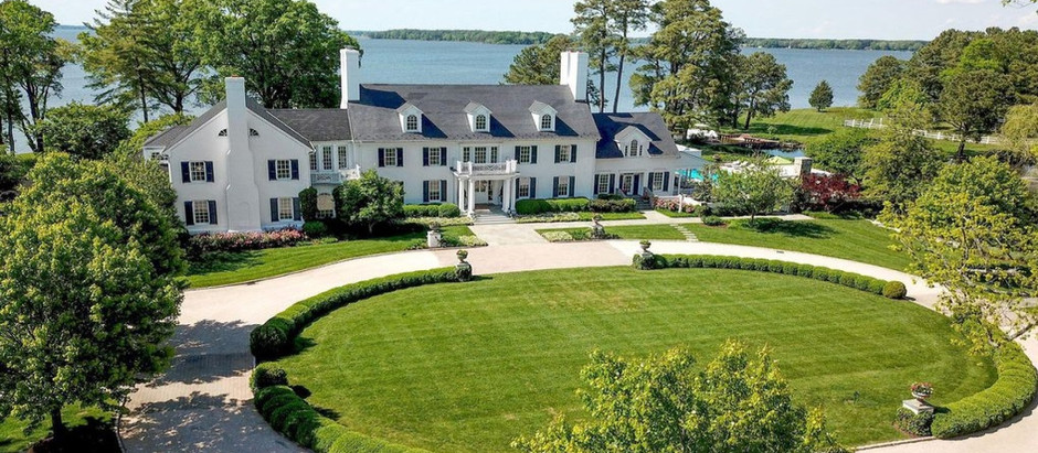 TOP 5 WATERFRONT LISTINGS IN TALBOT COUNTY