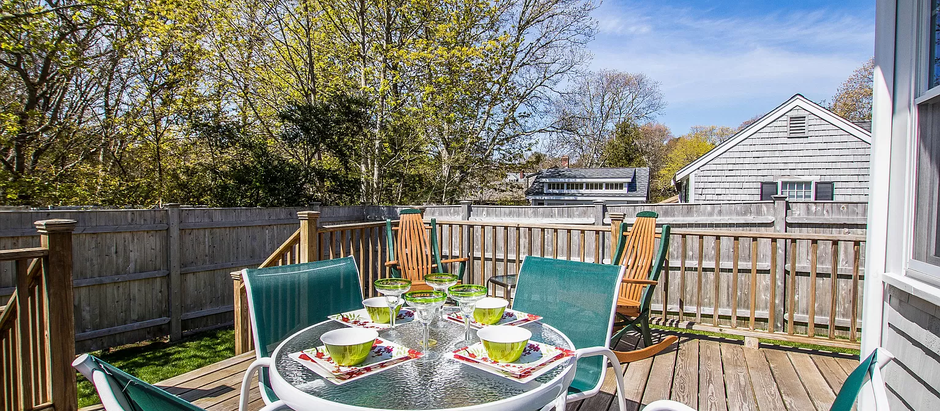 TOP 5 LISTINGS IN COTUIT WITH OUTDOOR SPACES
