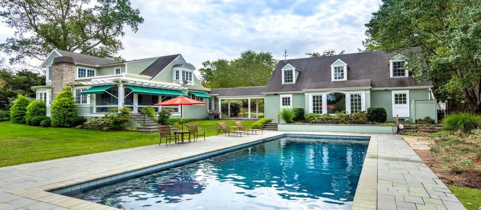 TOP 5 HOMES WITH POOLS