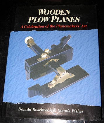 Wooden Plow Planes by Rosebrook