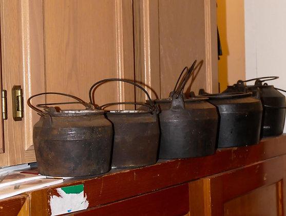 Set of 5 Glue Pots