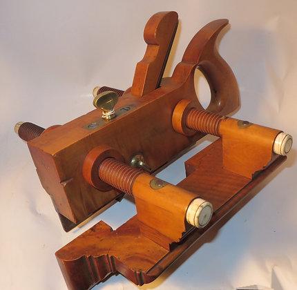 Tiger-Grain Boxwood Plow Plane - Unknown Maker