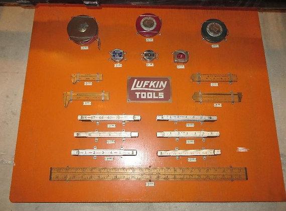 Lufkin Rule Shop Display Board
