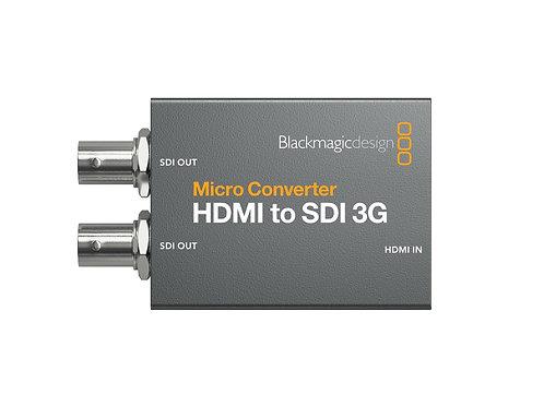 Blackmagic Design Micro Converter HDMI / SDI 3G ohne. Netzteil