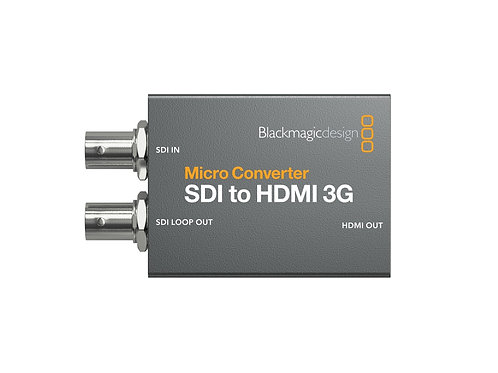Blackmagic Design Micro Converter SDI / HDMI 3G inkl. Netzteil
