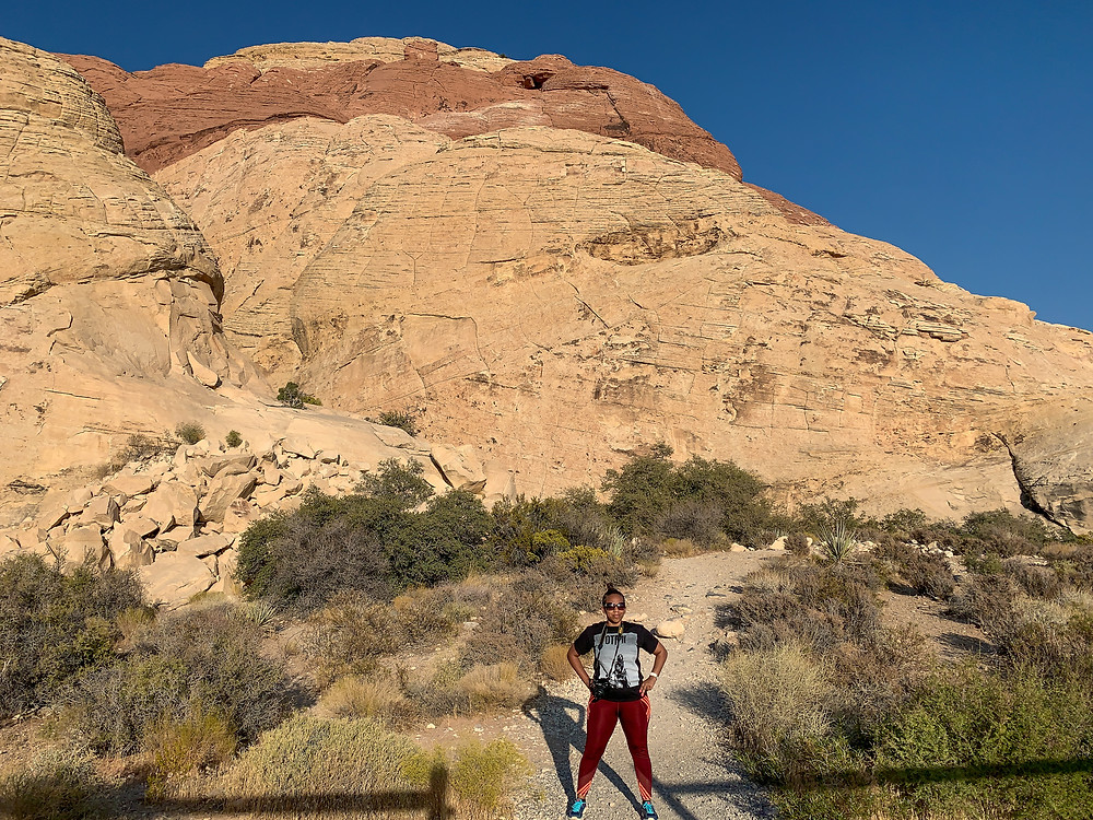 Kita the Explorer at Red Rock Canyon