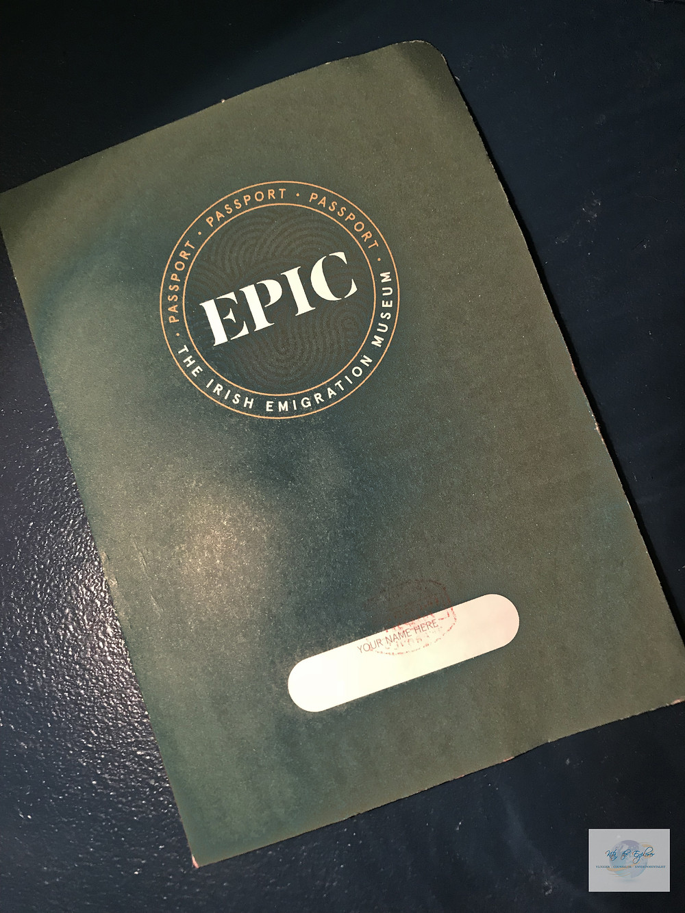 PASSPORT FOR EPIC MUSEUM