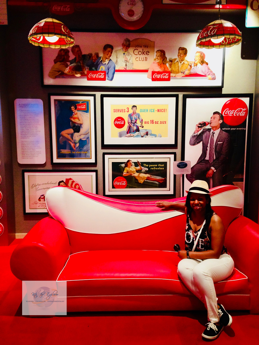 Me at the World of Coke