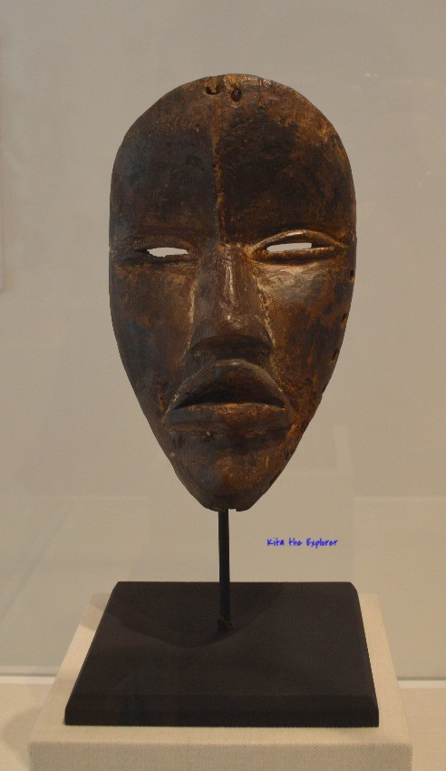 Mask by Dan Artist, Liberia and Ivory Coast