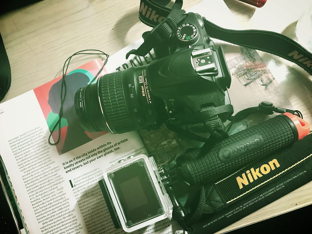 Picture of my cameras by Kita the Explorer
