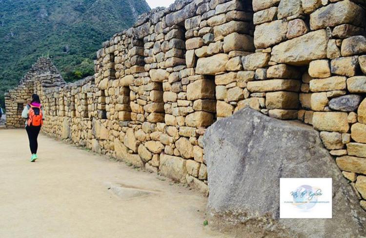 Hiking Through Machu Picchu by Kita the Explorer