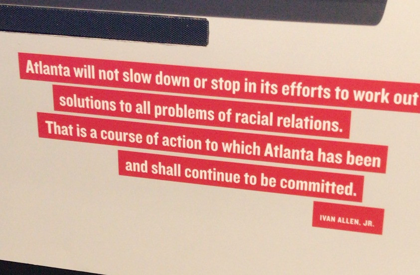 Quote from Ivan Allen Jr. - Center for Civil and Human Rights
