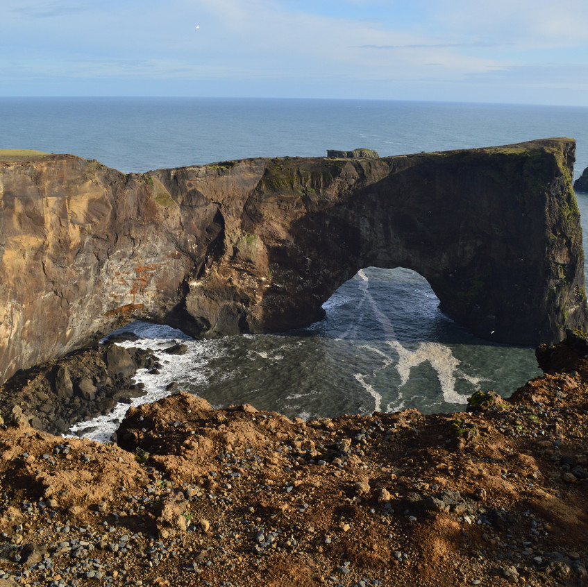 Arch in Vik
