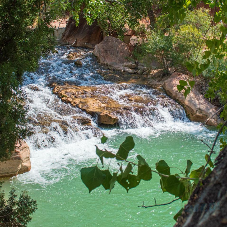 Waterfall at Zion