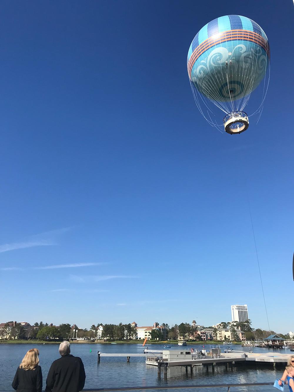 Hot Air Balloon Ride at Disney Springs by Kita the Explorer