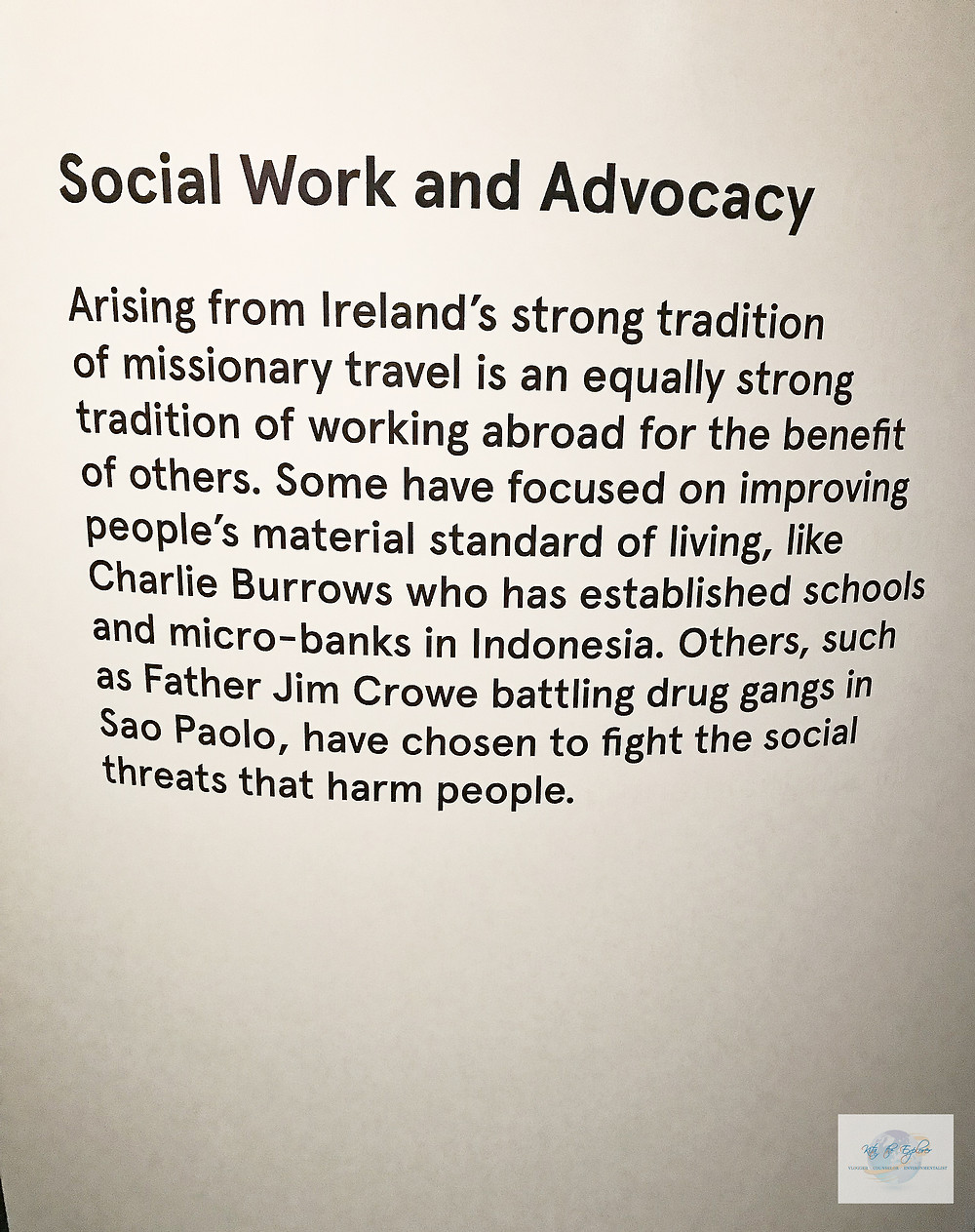 ABOUT SOCIAL WORK IN IRELAND