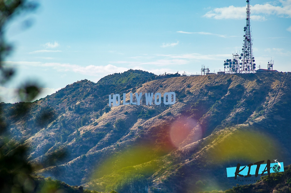 Photo of the Hollywood Sign from Griffith Observatory