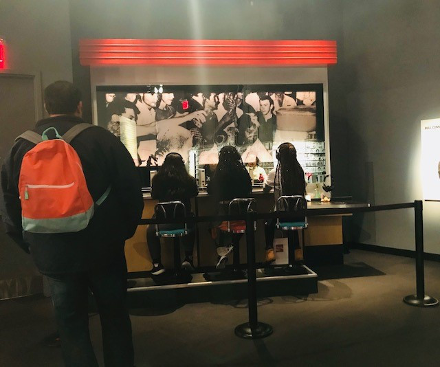 Lunch Counter Simulation at Center for Civil and Human Rights