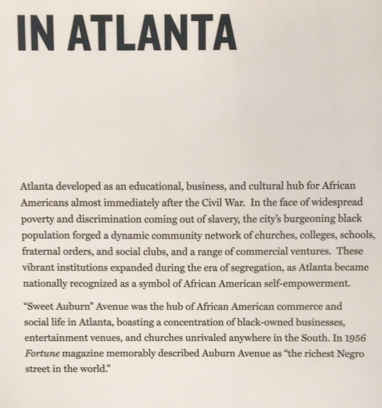 In Atlanta - from the Center for Civil and Human Rights