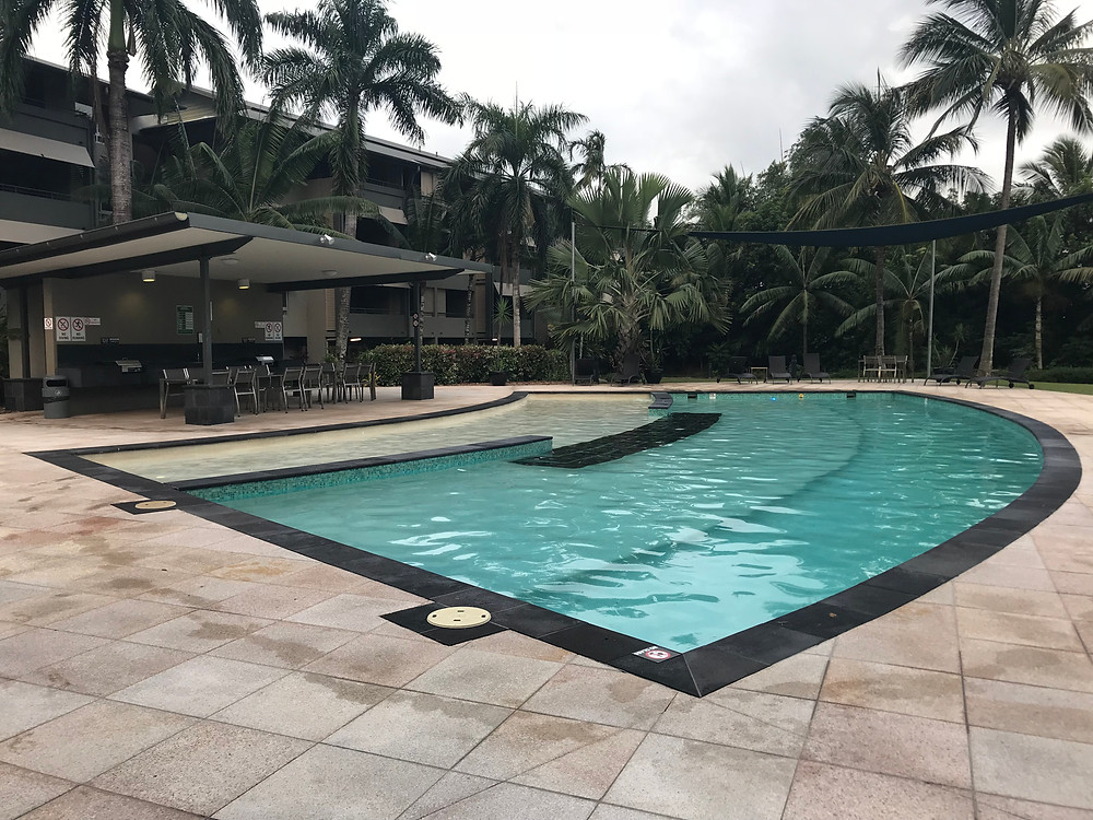 Picture of the private pool at the Paradise Palms Resort by Kita the Explorer