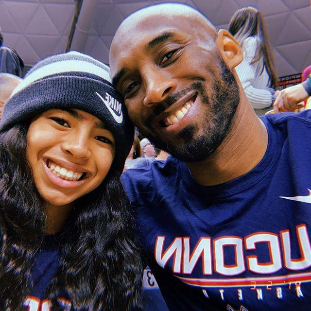 Photo of Kobe and Gigi Bryant from Kobe Bryant's Instagram Page