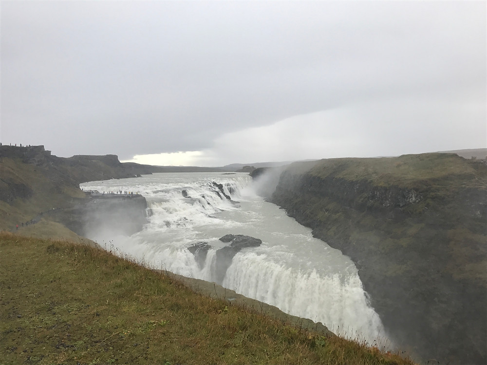 Photo of Gullfoss Waterfall by Kita the Explorer