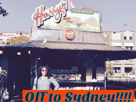 Off to Sydney!!!! Sydney, Australia