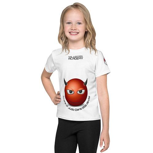 All-Over Print Kids Crew Neck T-Shirt
