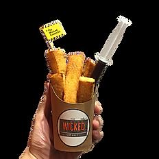 Honey Jenga Toasts