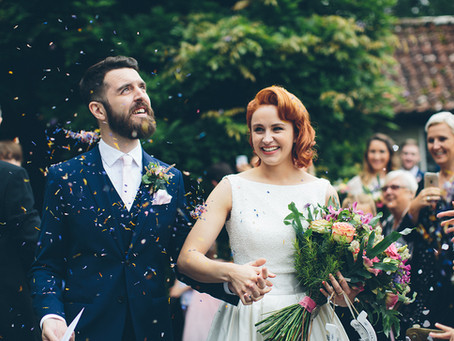 Charlotte & Alex's Vintage Cornish Wedding
