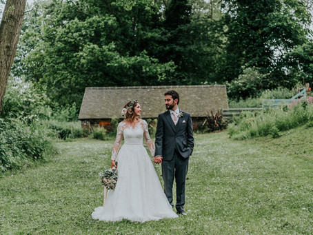 Natasha & Patrick's Floral Countryside Wedding