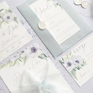 anemone watercolour wedding invitation.j