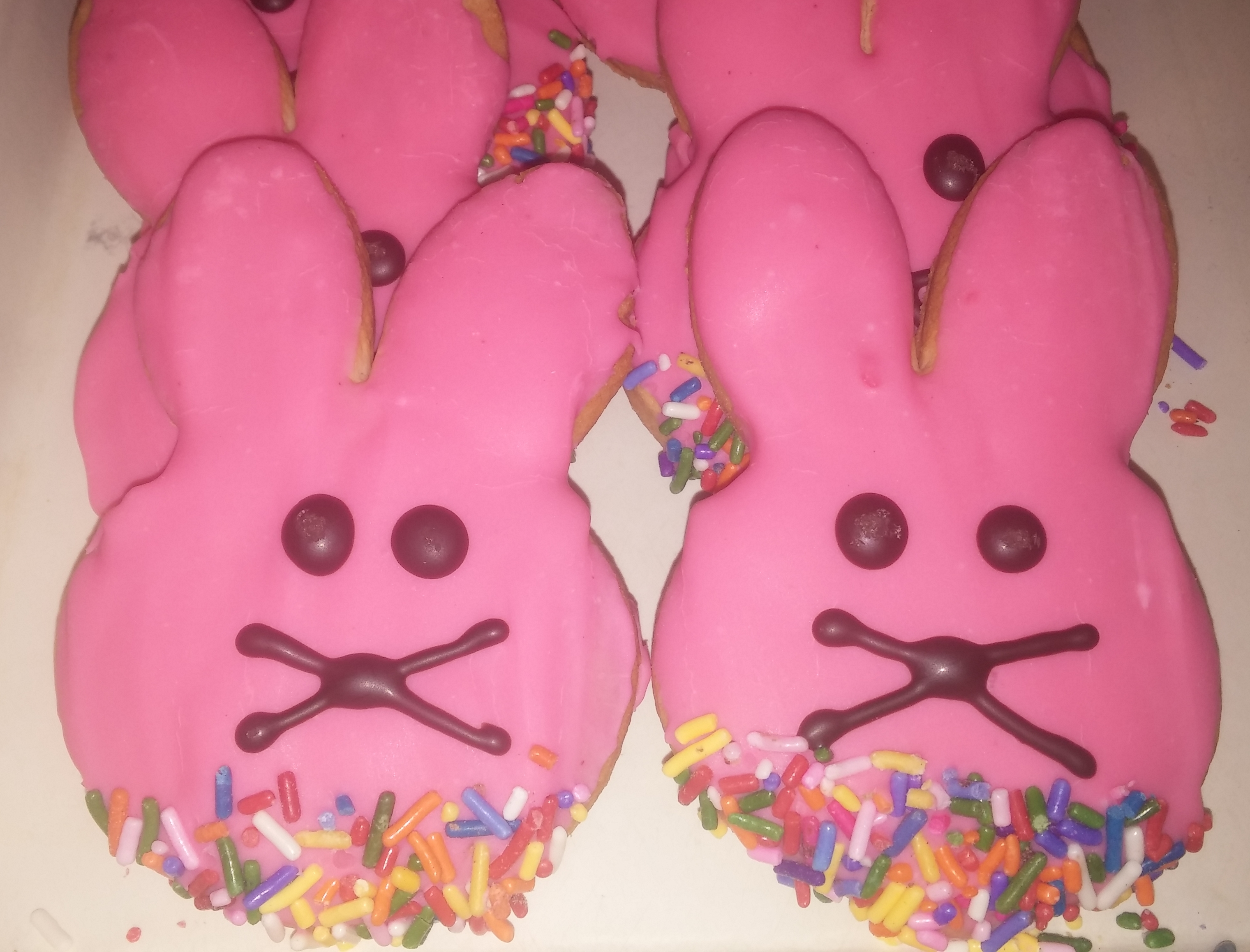 Bunny Cut Out Cookies