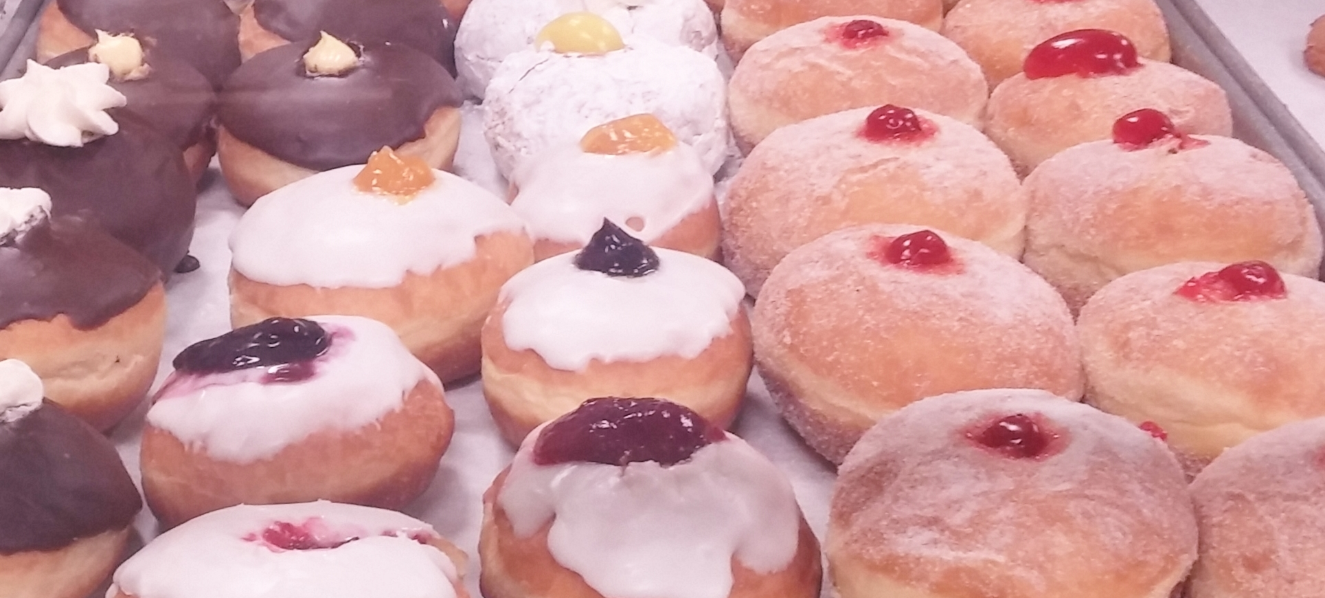 Assorted Pączki