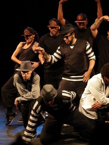 Espetáculo Dança de Rua e suas faces