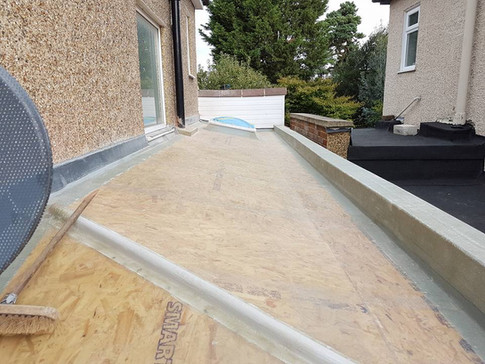 Fibreglass roof Staines On Thames
