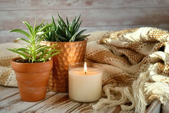 simple-pleasures-a-tray-with-a-lit-scent