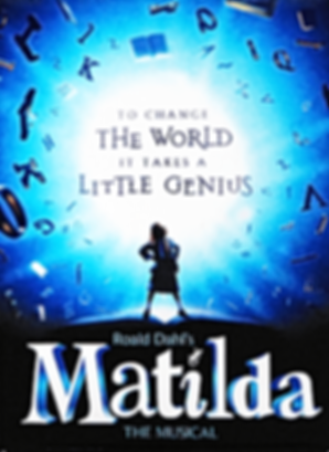 Matilda the Broadway Musical - Logo Magn