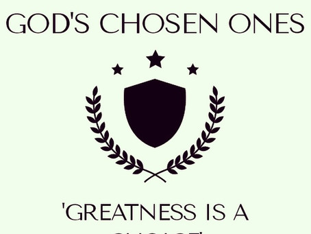 Welcome to God's Chosen Ones!!!