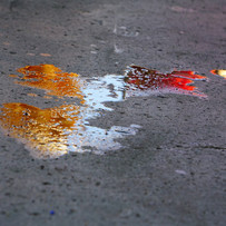 COLOURED PUDDLE