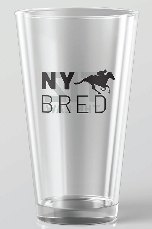 Tiz the Law - NY Bred | Pint glass