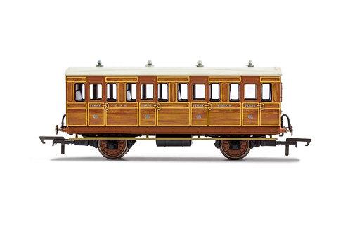 R40103 GNR 4 Wheel Coach 1st Class Fitted Lights 1534 - Era 2