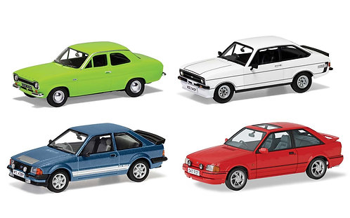 RS00001Ford Escort RS Collection, Ford's RS Escorts, Four Decades of Success