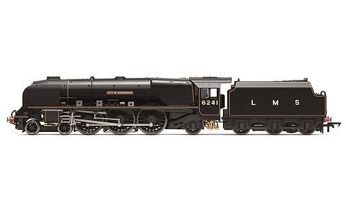 Hornby R3681 Princess Coronation Class 4-6-2 6241 City of Edinburgh-Era 3