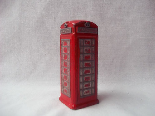 Red Telephone Box Die-Cast By Dinky Meccano 1:76